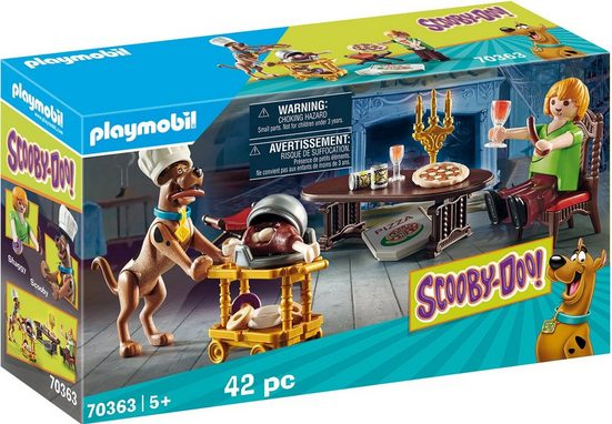 Playmobil® Konstruktions-Spielset »SCOOBY-DOO! Abendessen mit Shaggy (70363), SCOOBY-DOO!«, ; Made in Germany