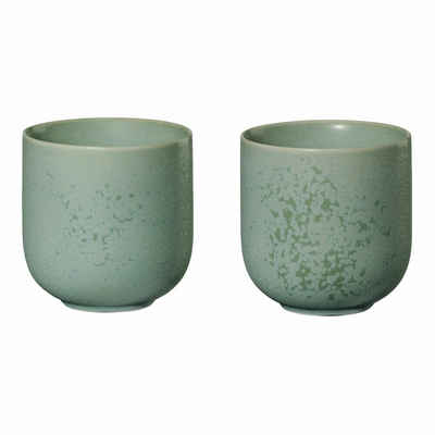 ASA SELECTION Teeglas »coppa 2er Set minto 200 ml«, Porzellan