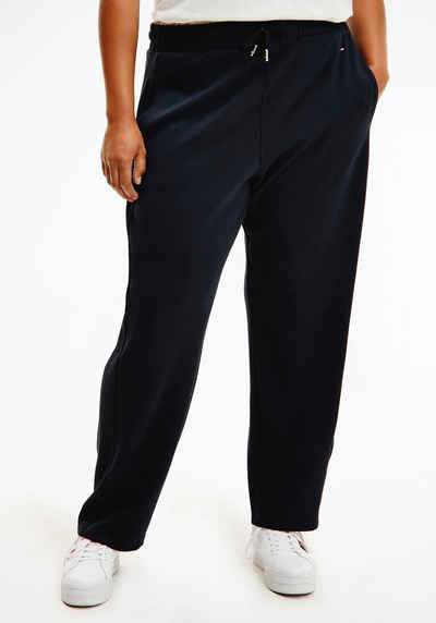 Tommy Hilfiger Curve Jogger Pants »CRV RELAXED PULL ON ANKLE PANT« mit Tommy Hilfiger Curve Logo-Flag