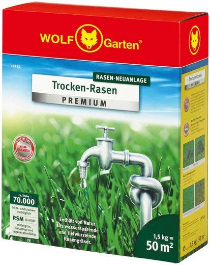 WOLF-Garten Rasensamen »L-TP 50 Trocken-Rasen PREMIUM«, 1,5 kg, zur Neuanlage