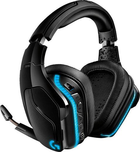 Logitech G »G935 7.1 Surround Sound LIGHTSYNC Gaming Headset« Gaming-Headset (WLAN (WiFi)