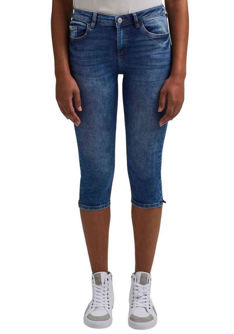 edc by Esprit 3/4-Jeans mit seitlichen Schlitzen