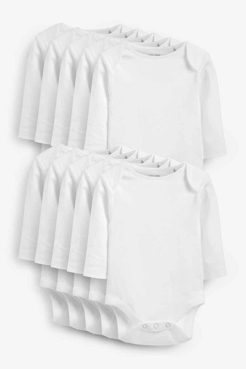 Next Body »Langärmelige Bodys, 10er-Pack« (10-tlg)