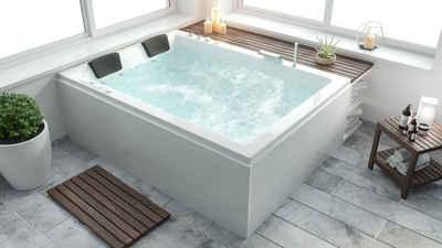 Emotion Whirlpool-Badewanne »Andalusia Universal Premium Whirlpool Set links«