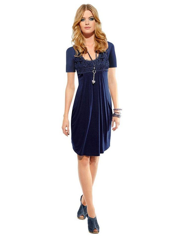 Festtagsmode - Ambria Spitzenkleid »Kleid« › blau  - Onlineshop OTTO