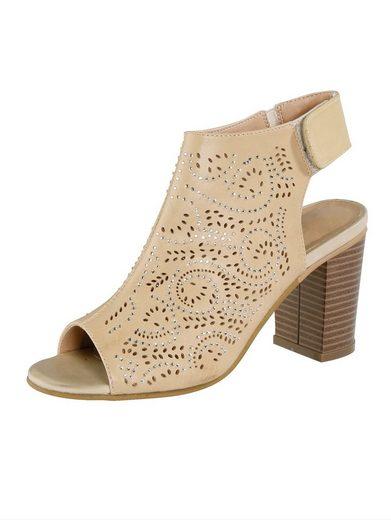 Liva Loop Sandale mit Klettriegel an der Ferse