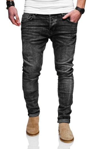 Rello & Reese Slim-fit-Jeans mit schmalem Bein