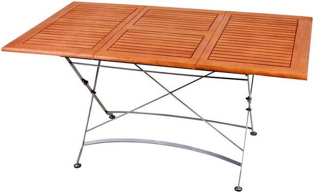 Tisch Wien mit Klappeinlagen