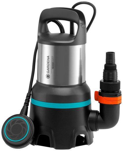 GARDENA Schmutzwasserpumpe »Tauchpumpe 16000, 9042-20«, 16000 l/h max. Fördermenge