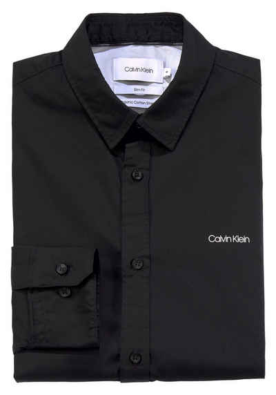Calvin Klein Businesshemd »Poplin Slim«