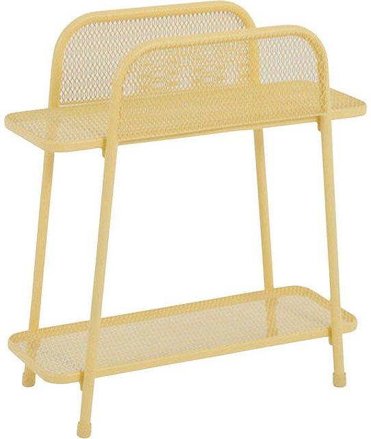 Küchenregale - Garden Pleasure Regal »Shelfo«, Metall, 55x27x70 cm, gelb  - Onlineshop OTTO