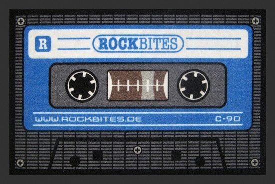 "Fußmatte »Rockbites - Fußmatte ""Tape blau"" Türmatte Fußabstreifer 14 (100836)«, Rockbites"