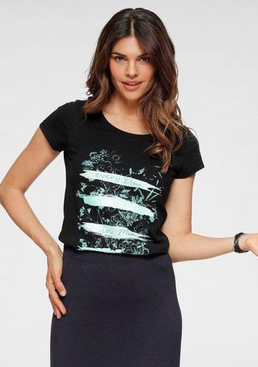 Boysen's T-Shirt aus reiner Baumwolle