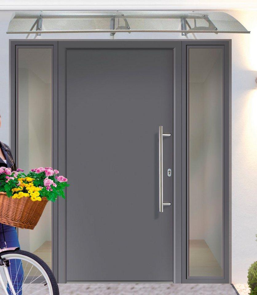 KM MEETH ZAUN GMBH Aluminium-Haustür »A01«, BxH: 98x208 cm, anthrazit, in 2  Varianten online kaufen | OTTO