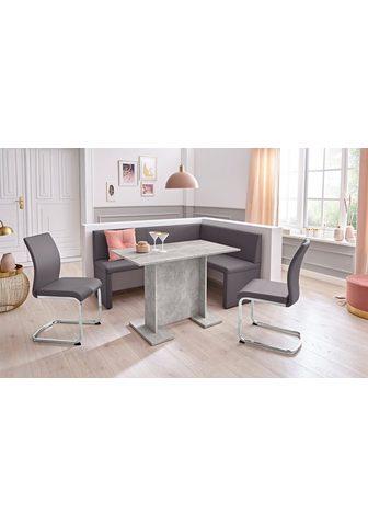 my home Kampinis virtuvės suolas su kėdėmis »T...