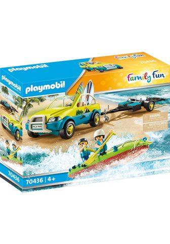 Playmobil ® Konstruktions-Spielset »Strandauto s...
