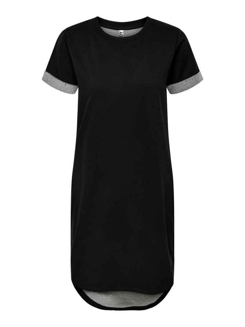 JACQUELINE de YONG Shirtkleid »3606« JDY Damen Sommer Kurzarm Kleid JDYIVY Midi Fit Dress Shirtkleid