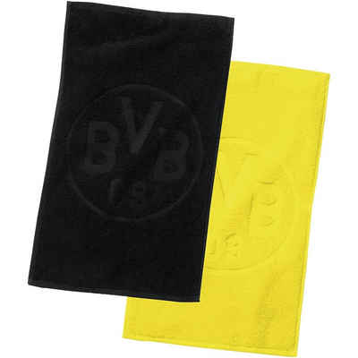 Borussia Dortmund Handtücher »Gästehandtücher BVB-Logo, Doppelpack,«