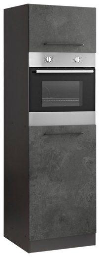 HELD MÖBEL Backofen/Kühlumbauschrank »Tulsa« 60 cm breit, 200 cm hoch, für Einbaubackofen und Einbaukühlschrank mit Nischenmaß 88 cm