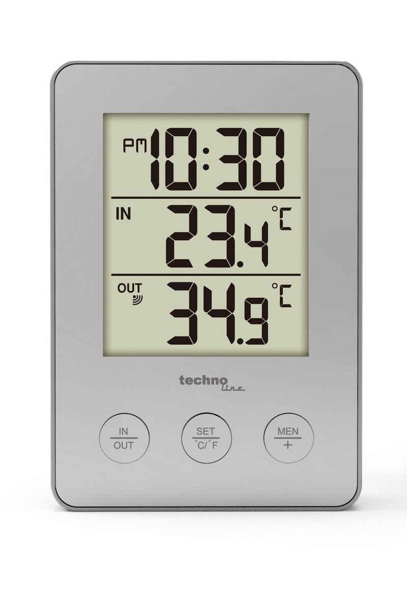 technoline »WS 9175« Wetterstation (inklusive Außensender, mit übersichtlicher Anzeige)