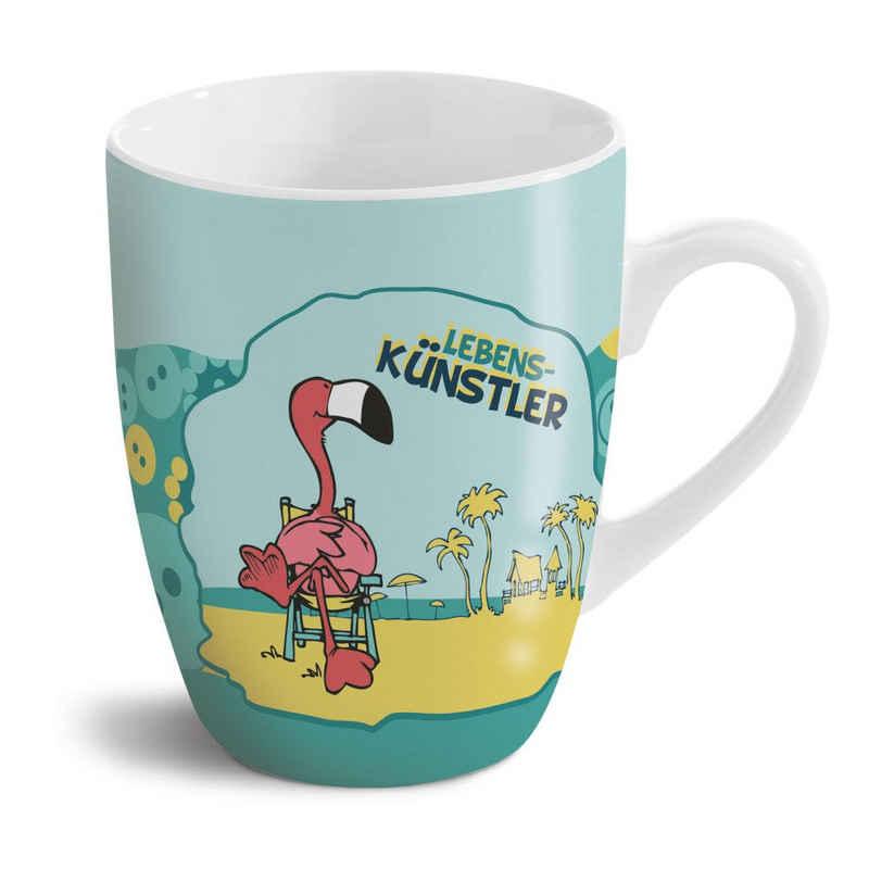 Nici Tasse »Flamingo«, Porzellan