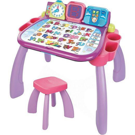 Vtech® Spieltisch »3 in 1 Magischer Schreibtisch pink«