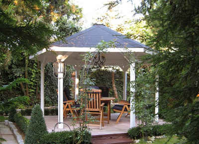 weka Pavillon »Paradies 2«, BxT: 399x461 cm