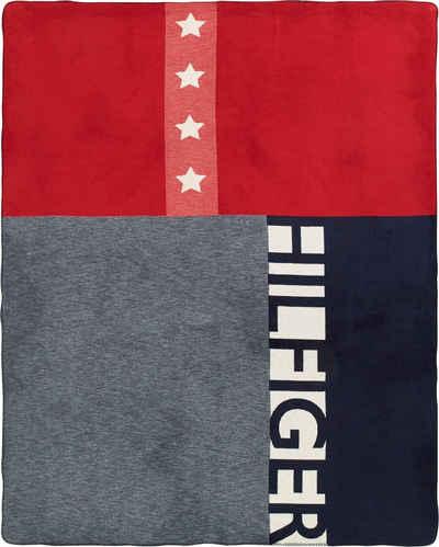 Plaid »American Flag«, Tommy Hilfiger, mit Sternen