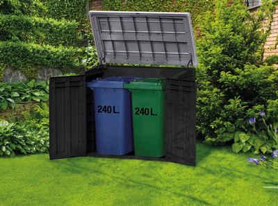Keter Mülltonnenbox »Store It Out MAX«, BxTxH: 146x125x82 cm