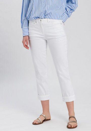 MARC AUREL 5-Pocket-Jeans mit leichten Destroy-Effekten