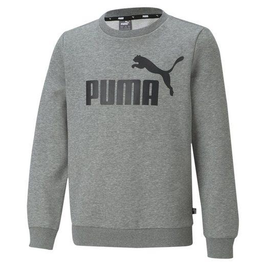 PUMA Sweater »Essentials Jugend Sweatshirt mit großem Logo«
