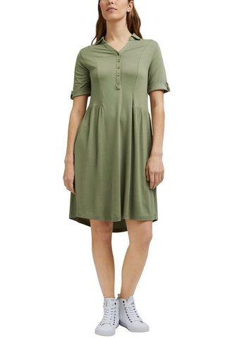 Esprit Suknelė-marškiniai su Knopfleiste ir Z...