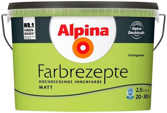ALPINA Wand- und Deckenfarbe »Farbrezepte - Frühlingswiese«, 2,5 l, matt