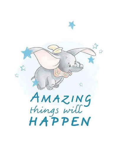 Komar Poster »Dumbo Amazing«, Disney, Höhe: 50cm