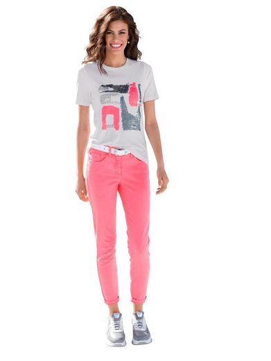 Amy Vermont 7/8-Jeans mit Push-Up-Effekt