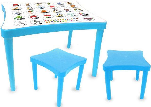 Sitzmöbel - Jamara Kindersitzgruppe »Easy Learning, blau«, (3 St)  - Onlineshop OTTO