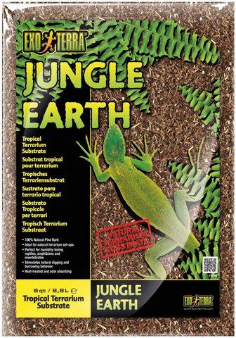 Exo Terra Terrarien-Substrat »Jungle Earth« 88 l...