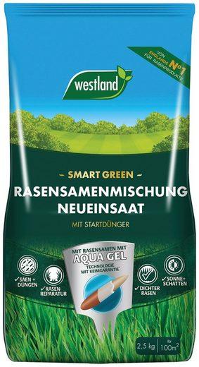 Westland Rasensamen »Smart Green Neueinsaat«, 2,5 kg, mit Startdünger, für ca. 100 m²