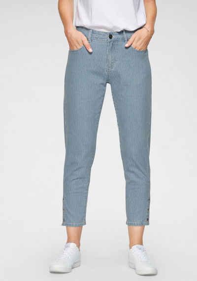 NAVIGAZIONE 7/8-Jeans »Gloria« mit Nadelstreifen