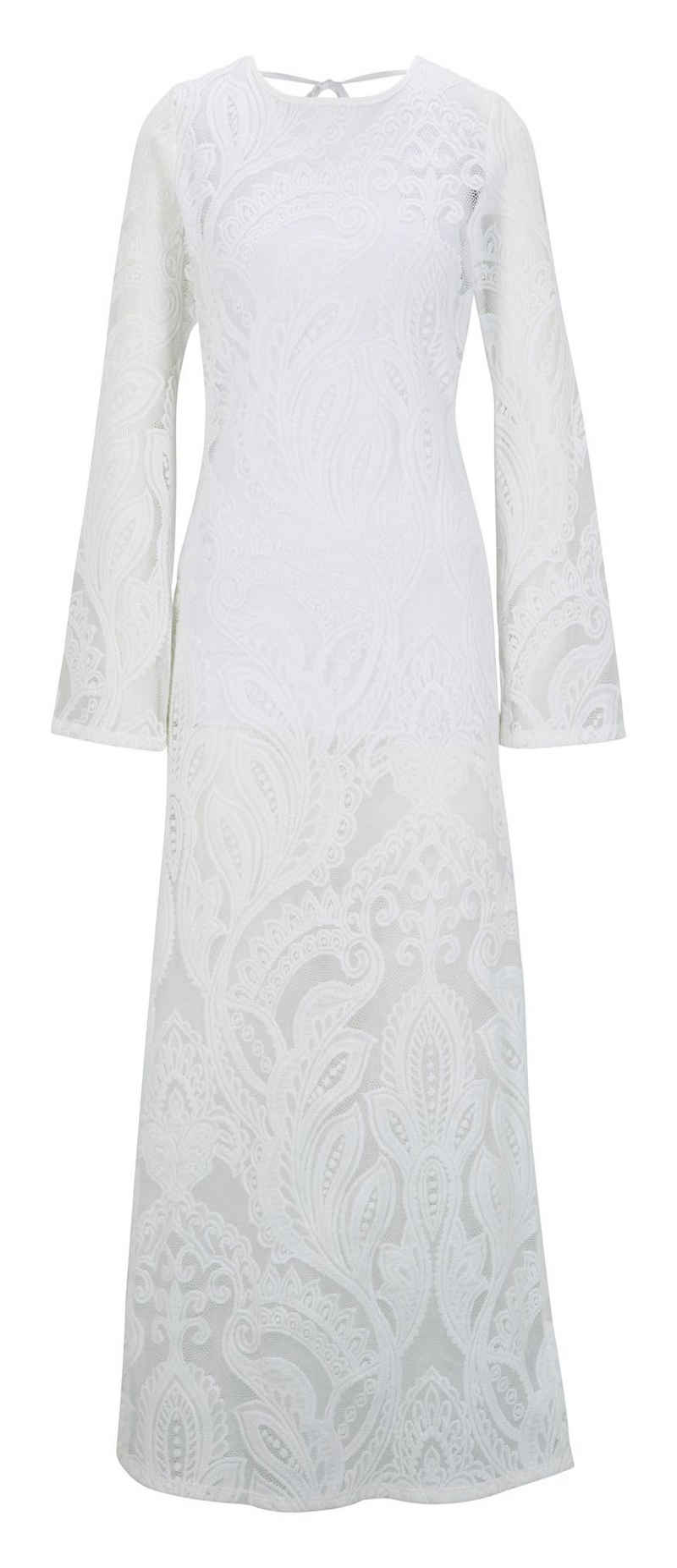 LINEA TESINI by Heine Spitzenkleid »Spitzen-Kleid«