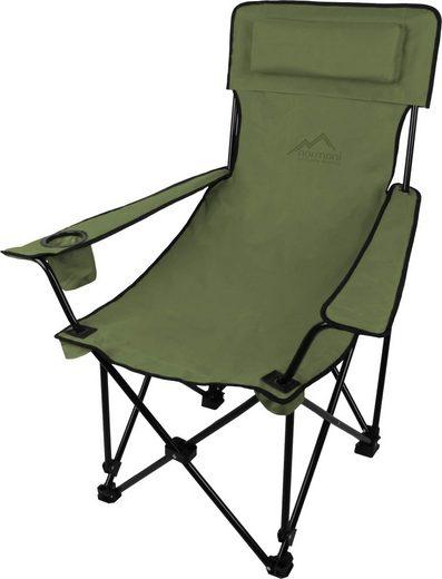 normani Campingstuhl »Outdoor-Klappstuhl Nipigon«, Campingstuhl Angelstuhl Faltstuhl mit Getränkehalter - Gartenstuhl bis zu 150 kg