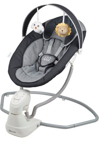 BabyGo Babywippe »Cuddly anthracite« elektris...