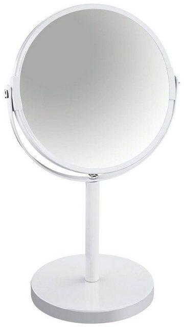 SPIRELLA Kosmetikspiegel »Sydney«, 2-Fach Vergrößerung, Ø 17cm | Bad > Bad-Accessoires > Kosmetikspiegel | Weiß | #DoYourSports
