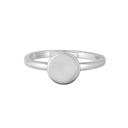 CAÏ Silberring »925/- Sterling Silber rhodiniert Boho«