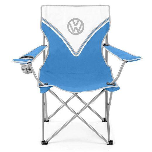 VW Collection by BRISA Campingstuhl »VW Bulli T1 Design faltbar«, Mit Getränkehalter & Tragetasche