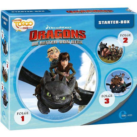 Edel Hörspiel »CD Dragons - Die Reiter von Berk - Starter-Box«