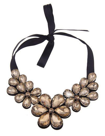 leslii Halskette mit große Blüten