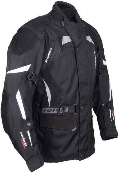 roleff Motorradjacke »RO 594 S« Mit Sicherheitsstreifen