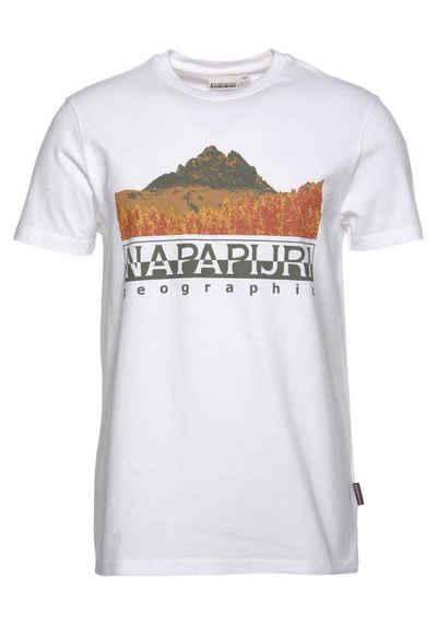 Napapijri T-Shirt »SETT SS« mit Frontprint
