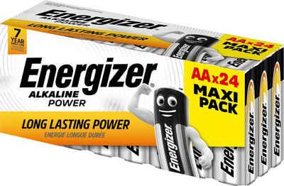 Energizer »Alkaline Power AA Batterien 24er Box« Batterie, (24 St)
